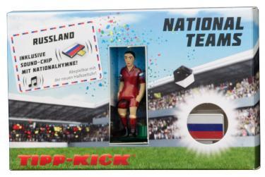 Star-Kicker Russland in Torwandbox