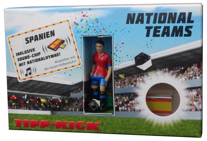 Star-Kicker Spanien in Torwandbox