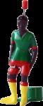 TIPP-KICK Cup mit Tasche und gratis Nationalspieler Kamerun