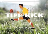 TIPP-KICK Autoaufkleber transparent groß