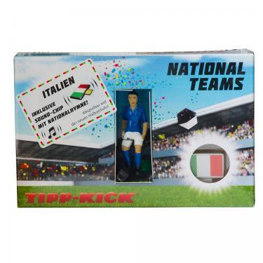 Star-Kicker Italien in Torwandbox