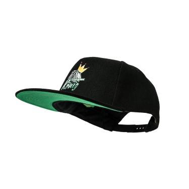Cap Snapback schwarz