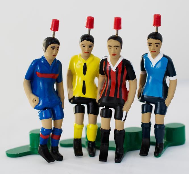 verschiedene Top-Kicker