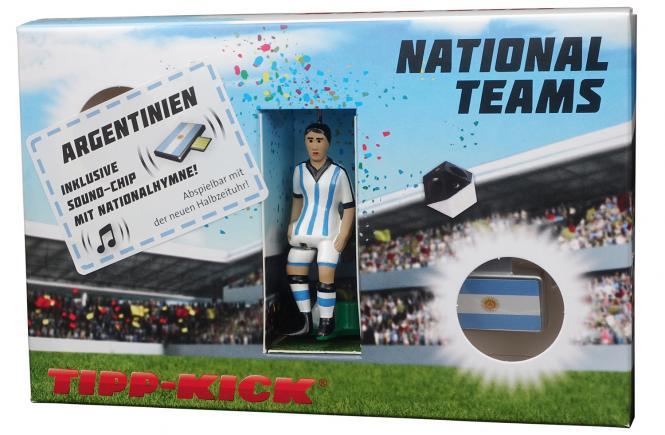 Star-Kicker Argentinien in Torwandbox