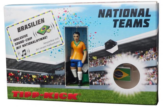 Star-Kicker Brasilien in Torwandbox